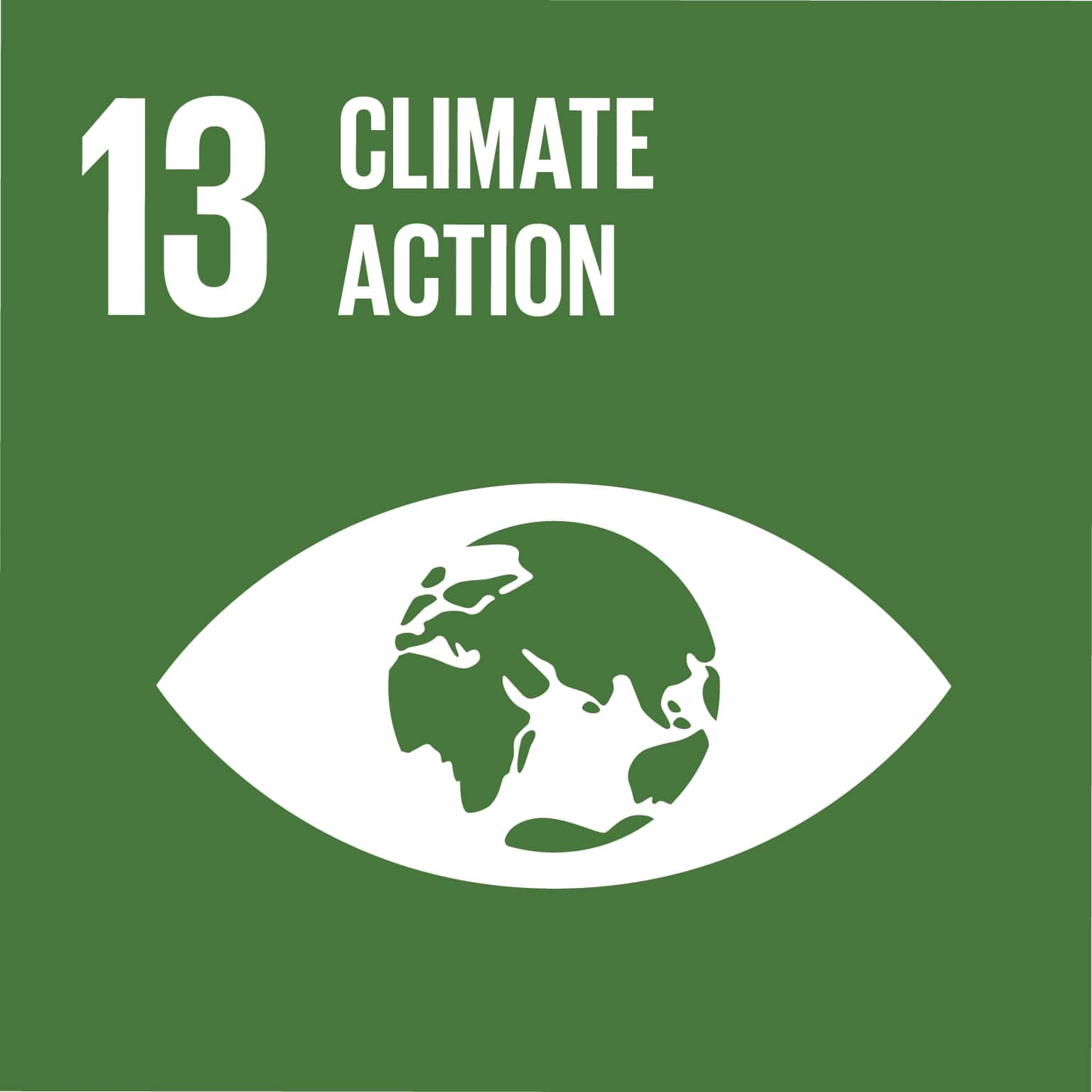 SUSTAINABLE DEVELOPMENT GOAL 13: Take urgent action to combat climate change and its impacts