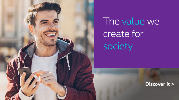 Discover the value we create for society
