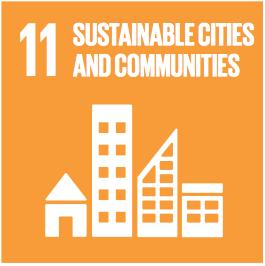 Sustainable Development Goals Badge 11: sustainable cities and communities