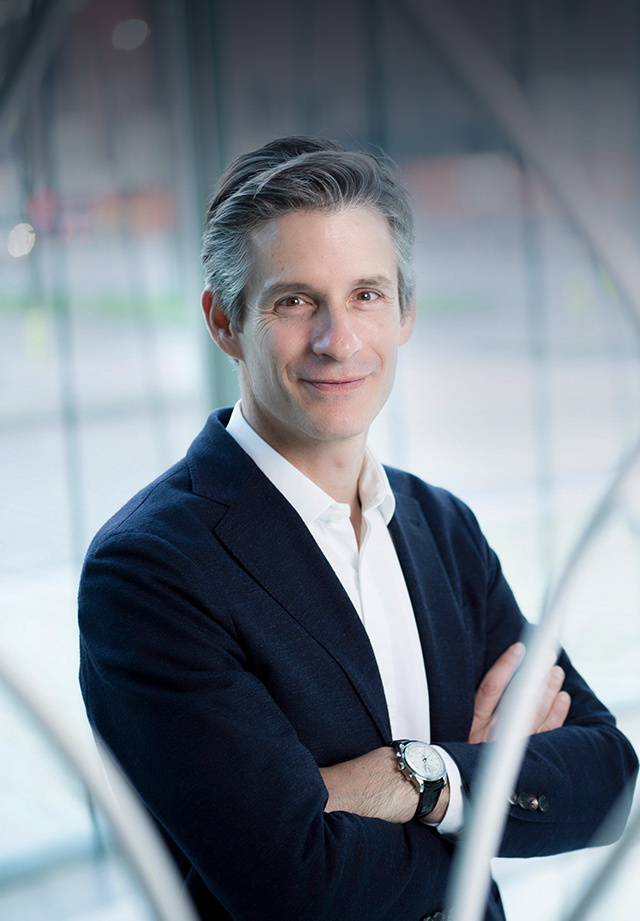 Photo of the CEO, Guillaume Boutin