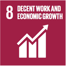Sustainable Development Goals Badge 8: Decent work and Economic Growth