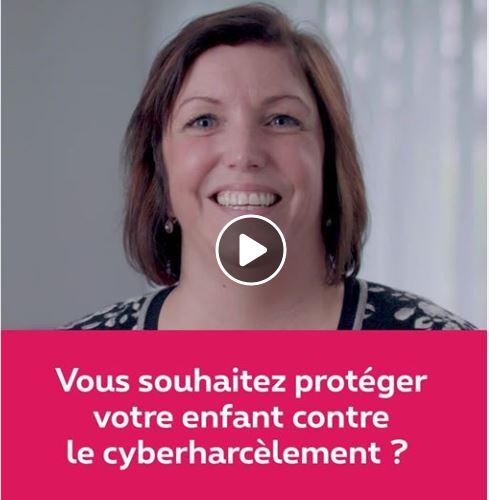 vous souhaitez protéger votre enfant contre le cyberharcélement?