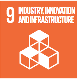 Sustainable Development Goals Badge 9: industry, innovation and infrastructure