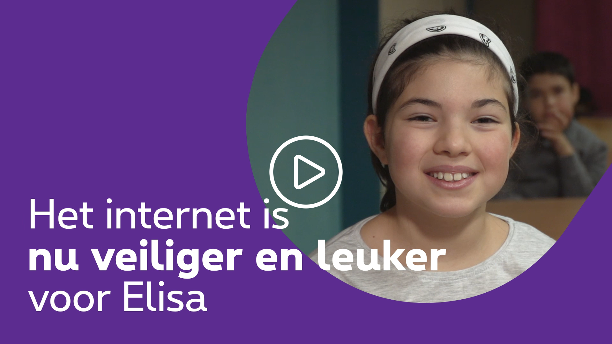 Internet is now safe and fun for Elisa - click to discover the video